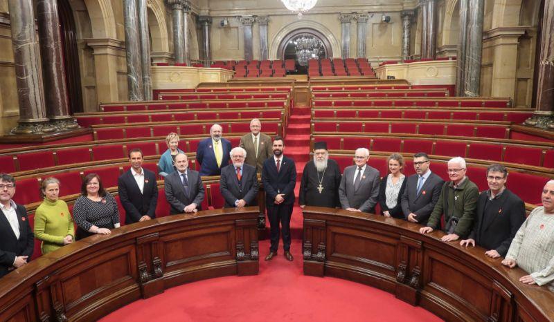 REPRESENTANTES DE DIVERSAS CREENCIAS PARTICIPAN EN UNA JORNADA DE DIÁLOGO INTERRELIGIOSO EN EL PARLAMENT
