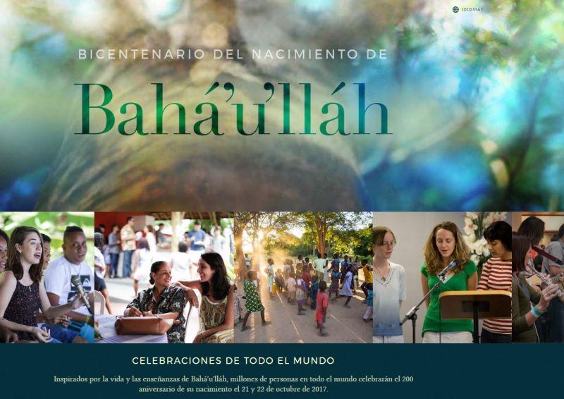 NUEVA PÁGINA WEB DEDICADA AL BICENTENARIO DEL NACIMIENTO DE BAHÁ'U'LLÁH